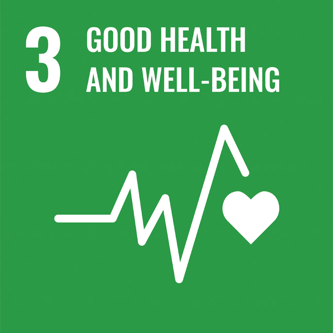 3GOOD HEALTH AND WELL-BEING