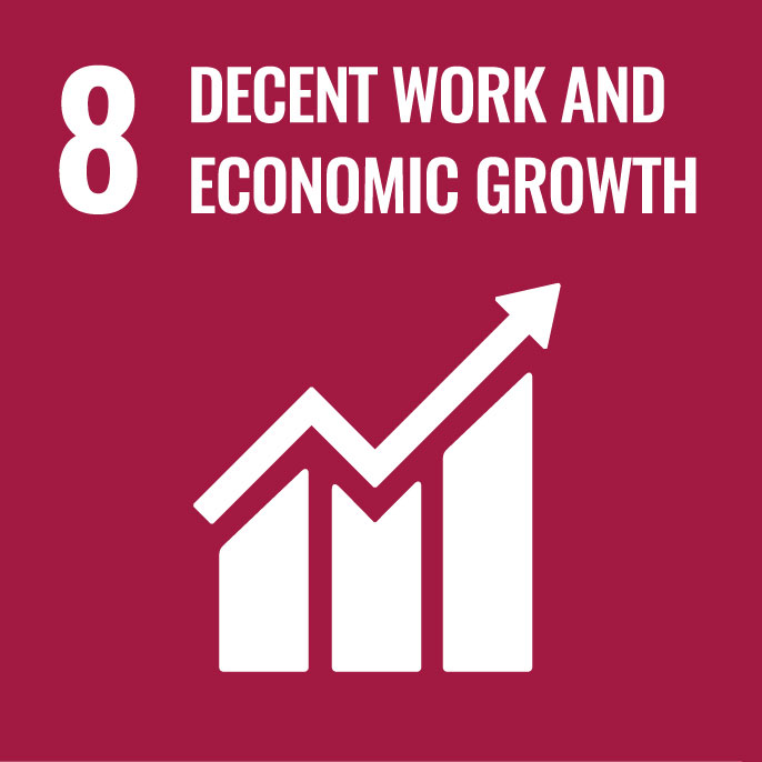 8DECENT WORK AND ECONOMIC GROWTH